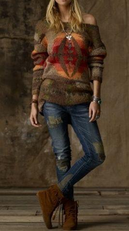 Fall Boho Outfit