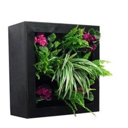 gsky 50110101 vertical wall garden planter square frame