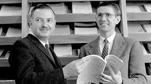 John Kemeny and Thomas Kurtz, inventors of Basic programming language