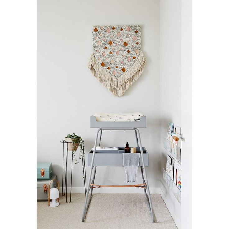 Designstuff is a proud stockist of the BZBX changing TOWER. A contemporary changing table $899 with natural leather, wood and acrylic dividers that can be transformed in to a tent once the baby has grown.