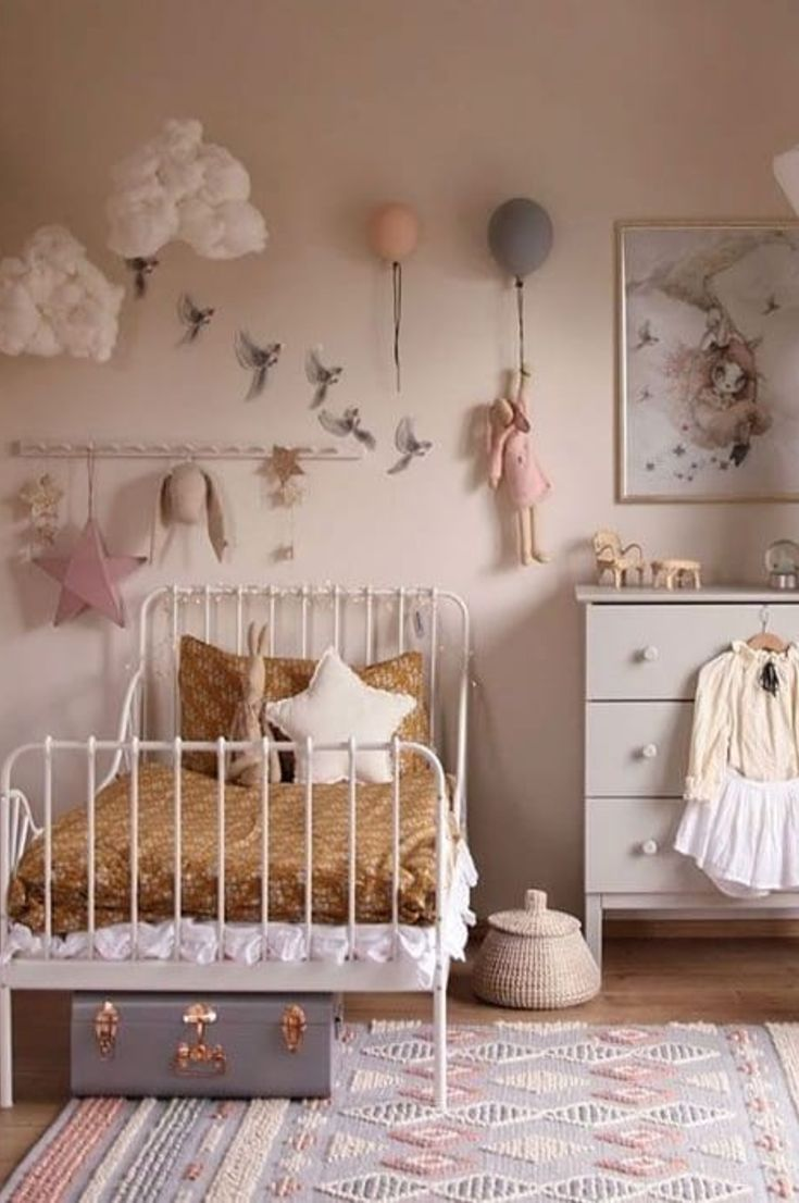 40 The Most Beautiful And Cool Kids Room Decoration Ideas Page 7 Of 44 My Blog In 2021 Toddler Room Decor Cool Kids Rooms Children Room Girl Childrens room decorating ideas