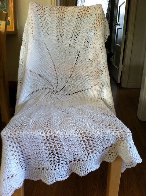 119 best Baby Knitted Christening Shawls images on ...
