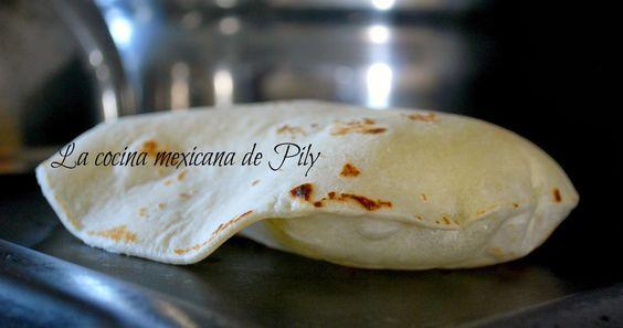 Básicos: ¿Cómo hacer tortillas de harina en casa? | La Cocina Mexicana de Pily