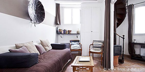 Apartment rental 1 bedroom Paris boulevard de l'Hôpital 5th District - Nearest metro Gare d\'Austerlitz