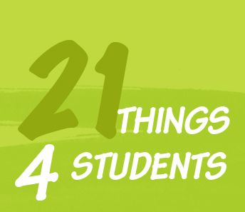 The 21things4students.net project is supported by a grant  and was created as an educational and online resource to help students improve their technology proficiency as they prepare for success in the 21st century.