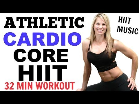 HIIT Cardio ABS Workout, HIIT CARDIO Core WORKOUT VIDEO - YouTube