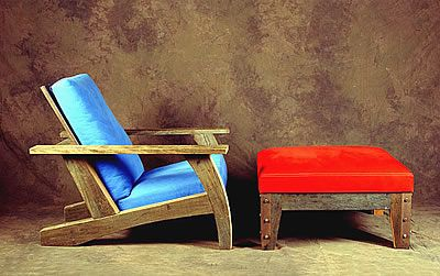 17 best images about sillas sillones y taburetes de madera for Sillones de madera