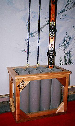 RAX Home Ski Storage Racks | CozyWinters.com