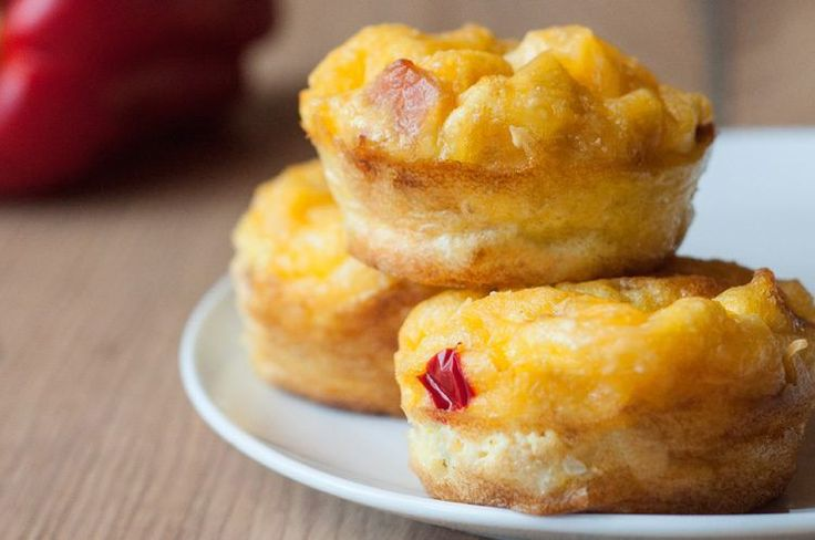 These skinny Bacon & Egg Breakfast Muffins are an excellent source of protein and will keep you full and satisfied all morning long!