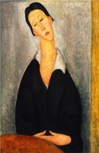 Portrait of a Polish Woman,   Amedeo Modigliani