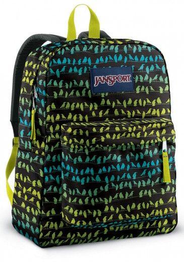 A mochila de pássaros da JanSport é do tipo que agrada todas as idades (R$ 129)