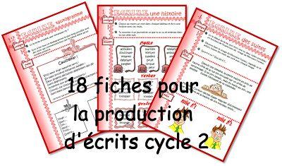 IPOTÂME ....TÂME: production d'écrit Cycle 2.