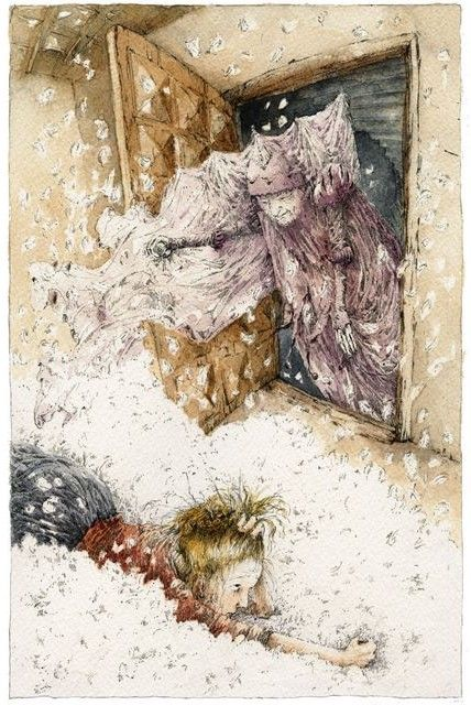 Grimm's Fairy Tales by Christa Unzner  Frau holle