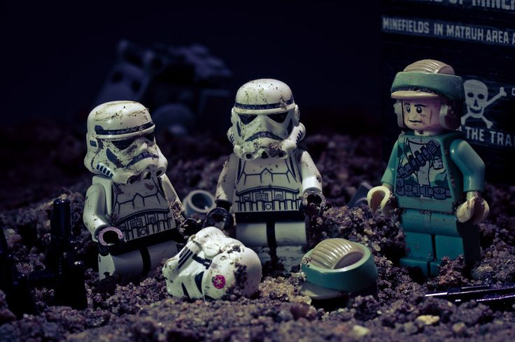 The Horrors of War #starwars #stormtrooper #lego