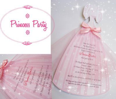 17 Best images about Princess Party Ideas – Diy Girl Birthday Party Invitations