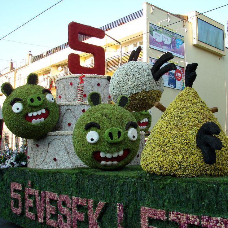 Debrecen flower carnival.