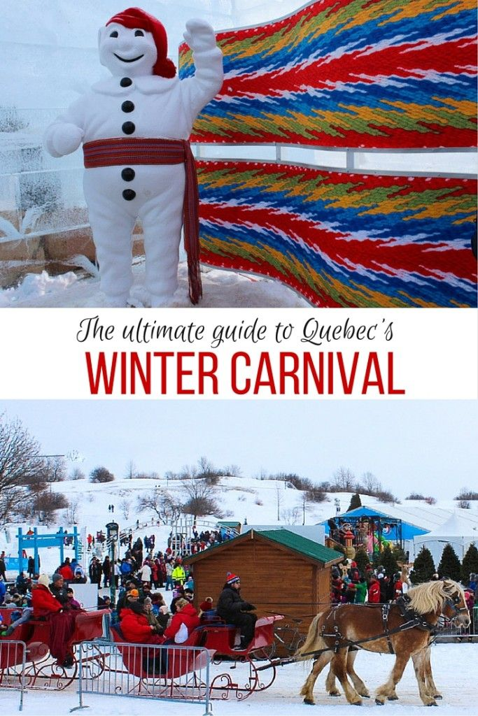 an elaborate celebration in the quebec winter carnival There's a long history of celebrations spanning from late january to mid-february  in quebec city in the worldwide capital of snow, the first large-scale winter.
