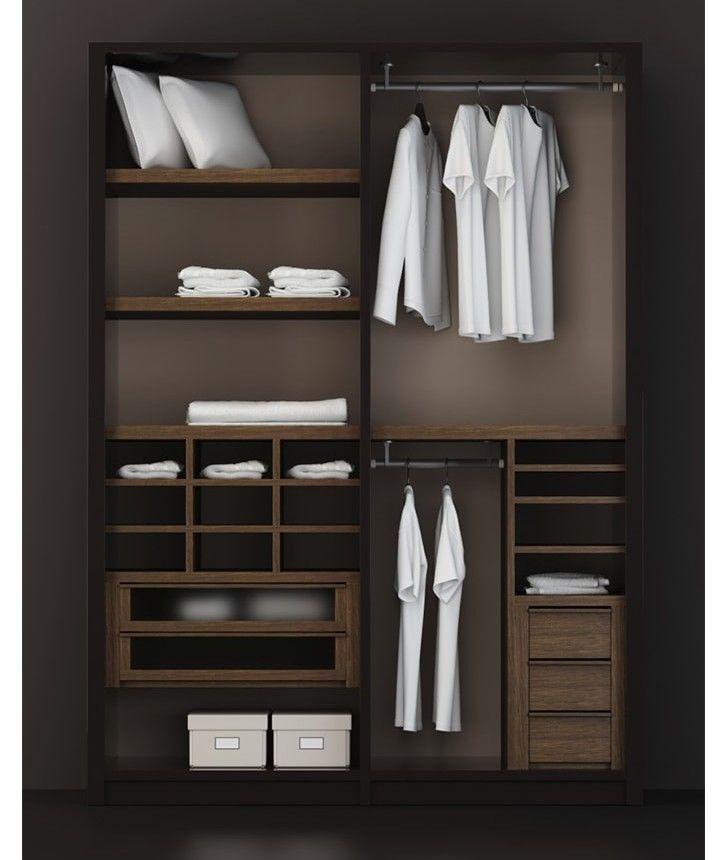 Best 25 imagenes de closet modernos ideas on pinterest for Closets modernos para parejas