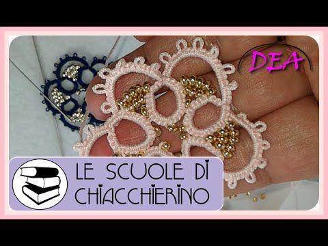 16°Tutorial Ago Scuole di Chiacchierino: Perle tra i Cerchi 2°Parte