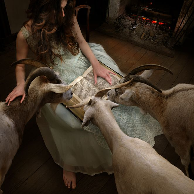 """The Goatherd"" - Photograph by Tom Chambers"