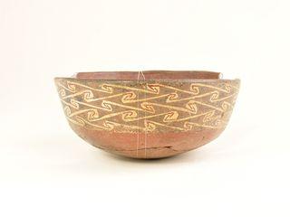Cuenco de cerámica, Norte Chico