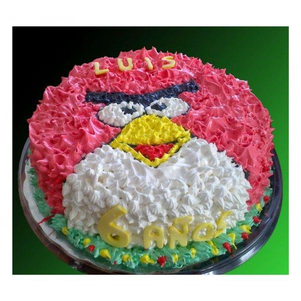 Pastel de Angry Bird