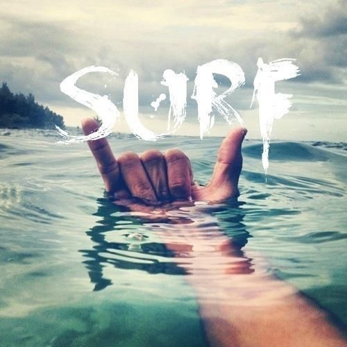 As long as I have my surfboard, sand on my bare feet, sea salt in my hair and…