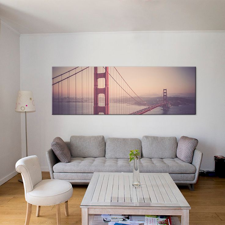 san francisco golden gate bridge canvas artskyline art artlarge wall art canvaspink