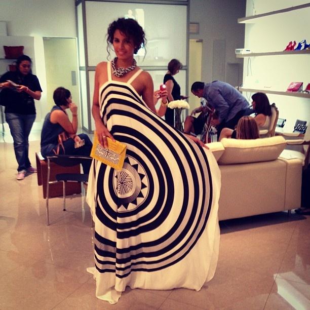 Fracesca Miranda ss 2013 #CONTINÚA Sombrero Vueltiao' #black #white #yellow