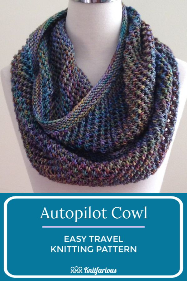 How To Loom Knit A Cowl - Youtube