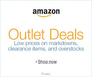 Great outlet deals! don't miss out