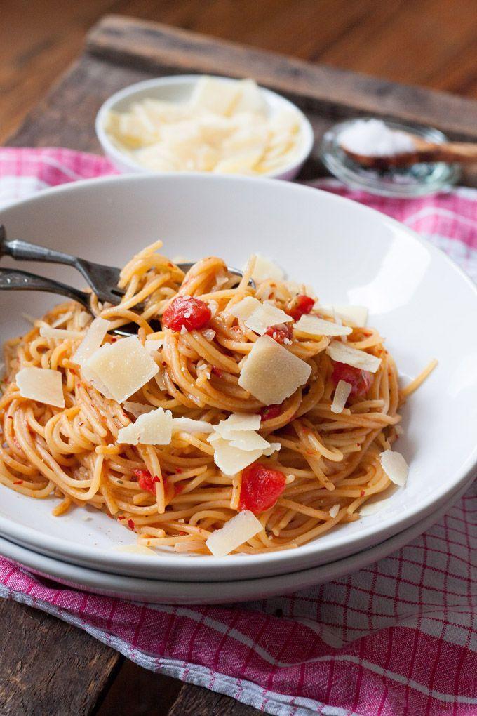 one pot pasta grundrezept schnell einfach und genial gut recipe one pot pasta one pot. Black Bedroom Furniture Sets. Home Design Ideas