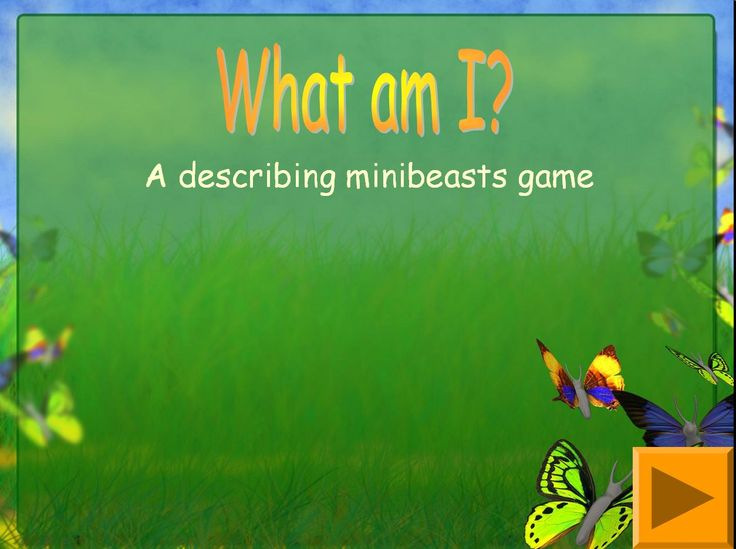 What am I? Minibeast descriptions game - Interactive game for young pupils or those with SEN.