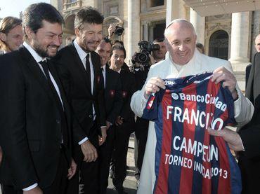 El Papa Francisco celebra triunfo de San Lorenzo :: El Informador