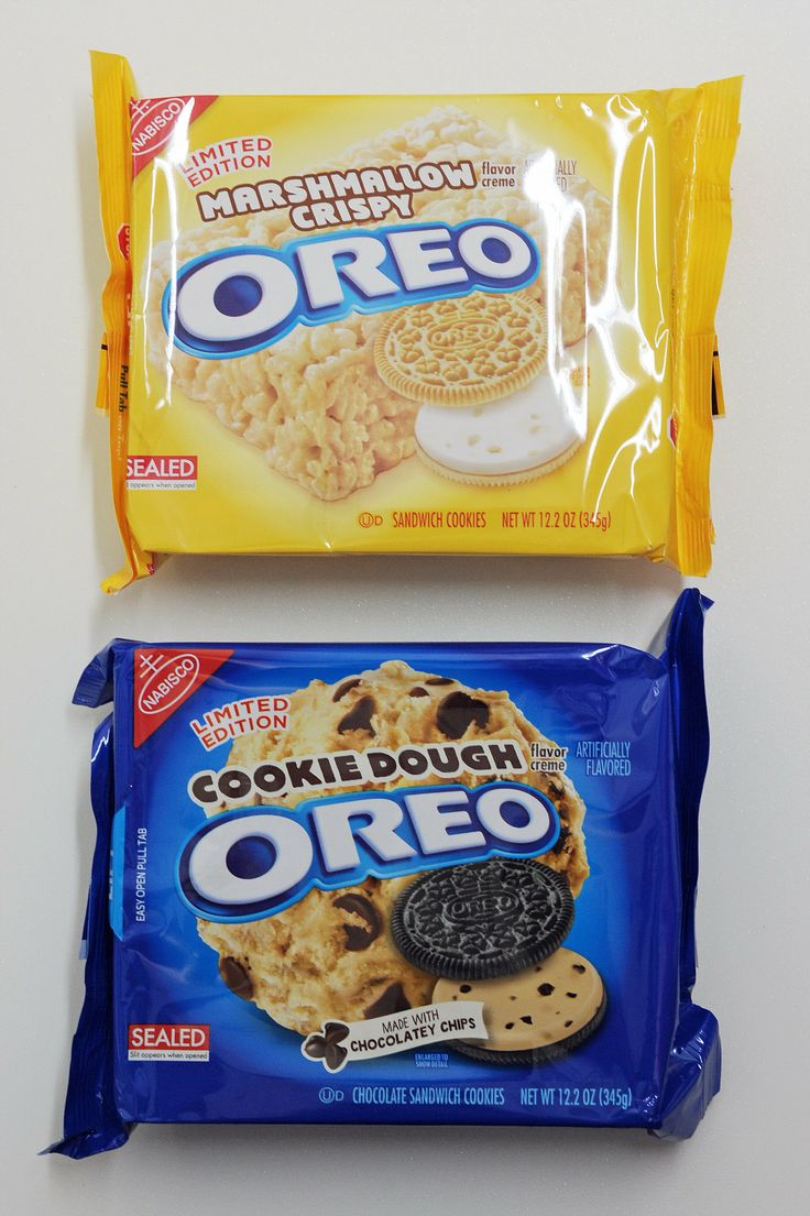 Two New Oreo Flavors You Need to Try Give me the marshmallow one