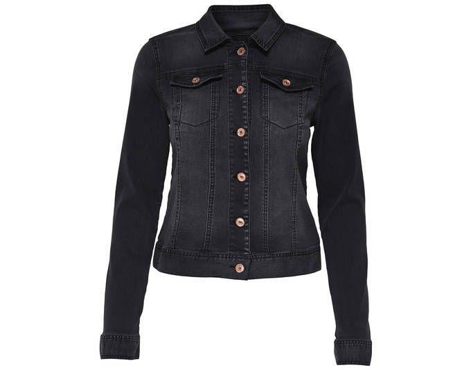 ONLY Damen Jeans-Jacke OnlChris LS black Jacket BJ7627 ,Farbe: schwarz, Größe: 34 Jetzt bestellen unter: https://mode.ladendirekt.de/damen/bekleidung/jacken/jeansjacken/?uid=bc361180-b56f-5c60-b7b4-3a3859136d08&utm_source=pinterest&utm_medium=pin&utm_campaign=boards #jeansjacken #bekleidung #jacken