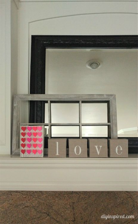 Easy Valentine's Day DIY Home Décor