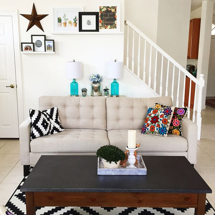 Accent colors and couch shelf 59 best