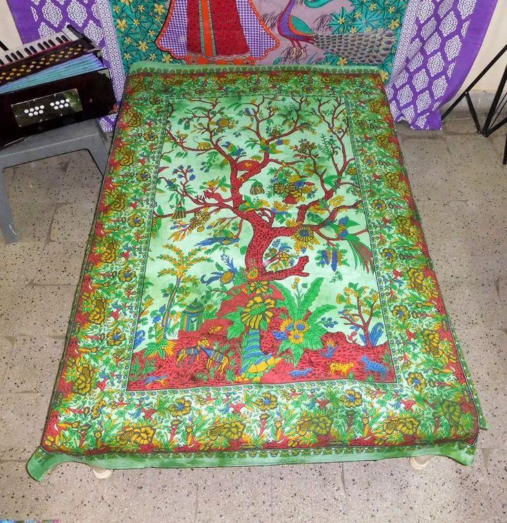 Mandala Tapestries Mandala Bedspreads Hippie Bohemian Twin Bed Cover Tapestries #Handmade #ArtDecoStyle #WallHangingTapestryBeachThrowBedspread