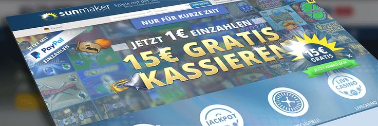 #Sunmaker #Casino Übersicht & Spielautomaten und Casino Spiele! Weiss mehr  über dein beliebtes Casino Anbieter!