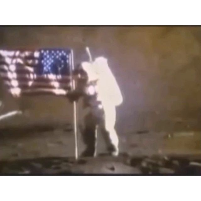 NASA's moon landing 1969, There have been cases where the moon have appeared to be some form of hologram ...