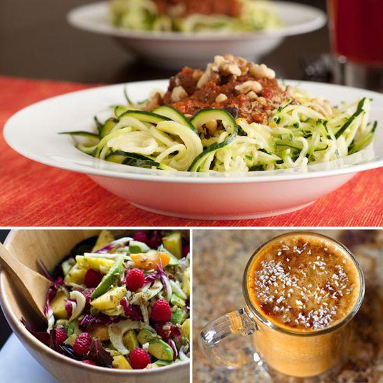 10 Healthy Raw Recipes, No Cooking Needed18 Healthy, Zucchini Pasta, Raw Recipes, Healthy Eating, 10 Healthy, Healthy Food, Healthy Raw, Food Recipe, Raw Food