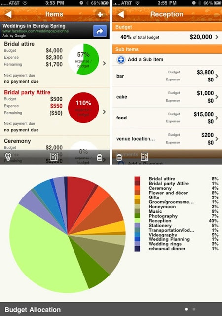 Wedding Budget App! It exists. :)