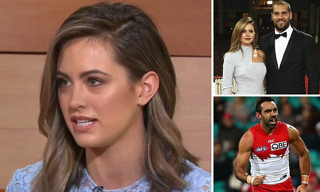 Jesinta Campbell's powerful words of support for Adam Goodes