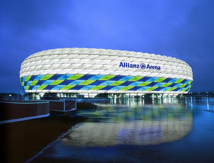 Allianz Arena in Germany home of Bayern Munich.