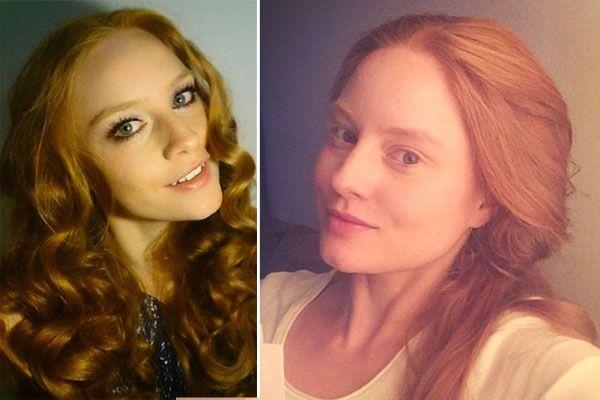 Germany's Next Topmodel: Barbara MeierEin echtes Model traut sich auch ohne Make-up vor die Kamera. GNTM-Gewinnerin Barbara Meier teilte