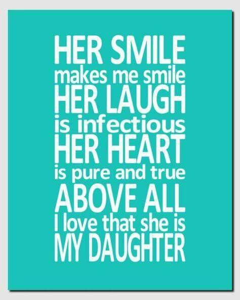 Baby Girl Daughter Quotes: 25+ Best Beautiful Daughter Quotes On Pinterest
