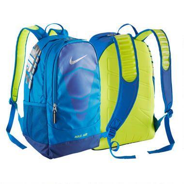 nike air backpack green