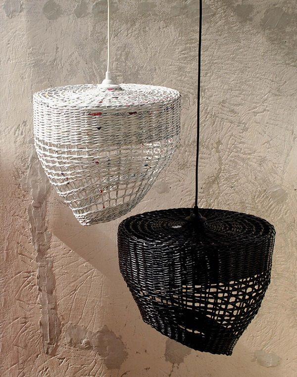 lampy dwie / set of two lamps by Barborka Dizajn - artisti.pl