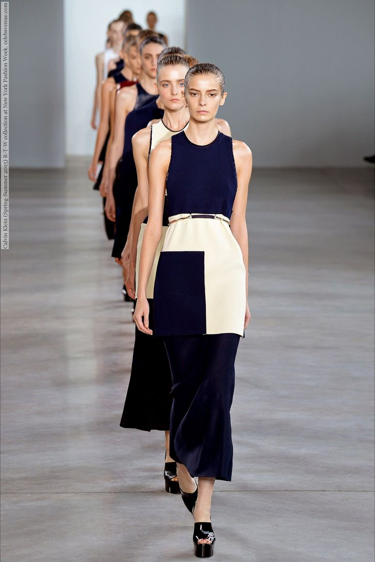 Calvin Klein (Spring-Summer 2015) R-T-W collection at New York Fashion Week  #AlexandraElizabeth #CalvinKlein #DashaDenisenko #ElenaPeter #HanneGabyOdiele #HarlethKuusik #JoMolenaar #JuliaBergshoeff #JuliaNobis #JulieHoomans #LexiBoling #LouiseLefebure #MaartjeVerhoef #MortaKontrimaite #NewYork #NikiTrefilova #OndriaHardin #SabinaLobova #SabineCozijnsen #SerenaArchetti #SoRaChoi #TamiWilliams #TianaPerry #VanessaMoody #WaleskaGorczevski